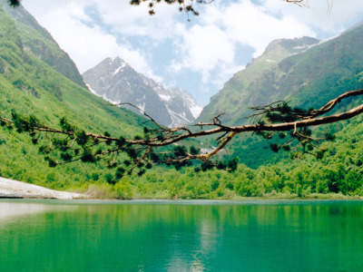 Домбай — удивительная природа Карачаево-Черкесии