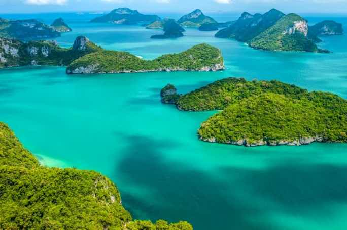 Ang Thong tour by speed boat from Samui