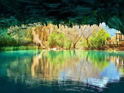 Пещера Алтынбешик и деревня Ормана