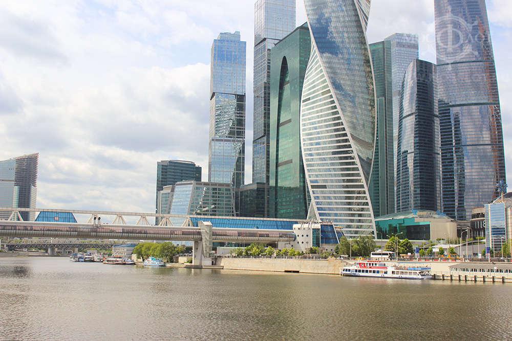 Фото причала Москва-сити