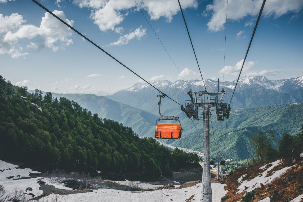 Канатная дорога Альпика в Сочи