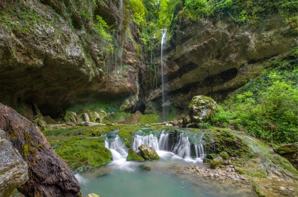 Водопад Глубокий Яр фото