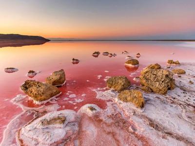 Мертвое озеро Азербайджана