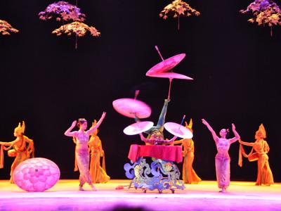 Акробатическое шоу «Парящие акробаты» в Театре Чаоян