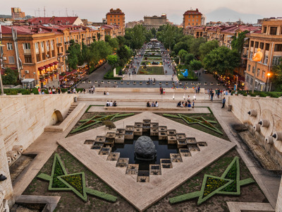 Пешком по Еревану — древнему и молодому