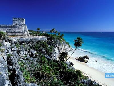 """Мексика: поездка в древние майянские города: Коба, Тулум и купание в подземных пещерах """"сенотах"""""""