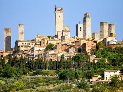 Сан Джиминьяно и Вольтерра - средневековые города - крепости в Тоскане