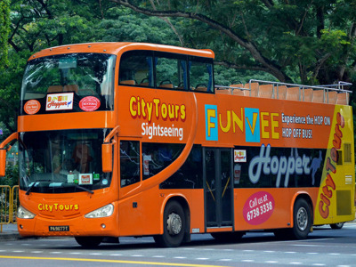 Обзорная поездка по Сингапуру на автобусе Hop on Hop off