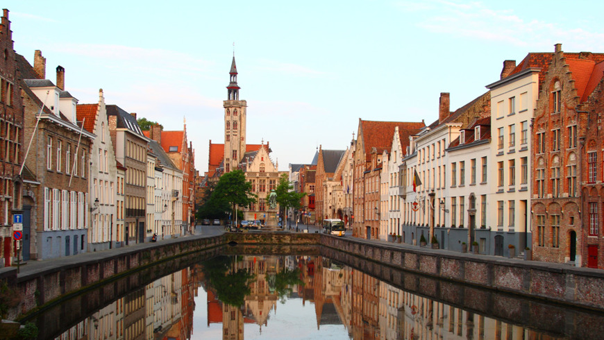 Брюгге и Гент в один день. Жемчужины Фландрии.