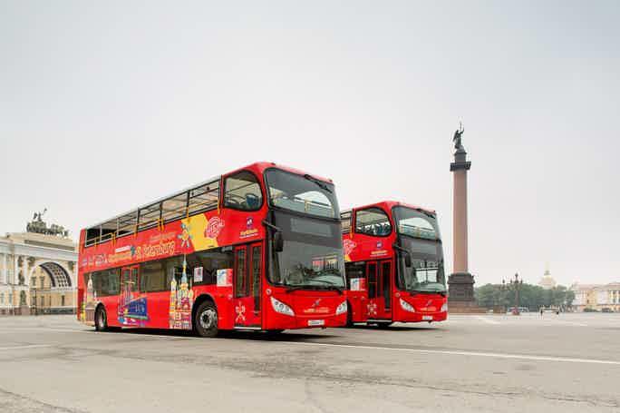 Обзорная экскурсия по Санкт-Петербургу на двухэтажном автобусе
