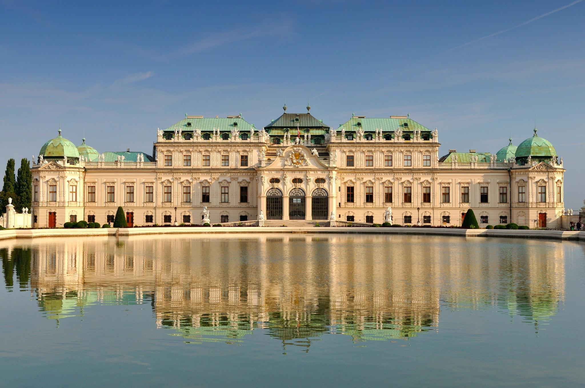 экскурсия из праги в вену: бельведер