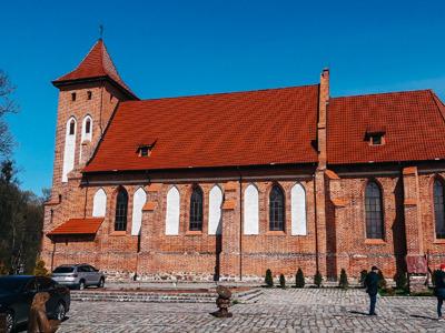 Замки и кирхи восточной Пруссии из Зеленоградска