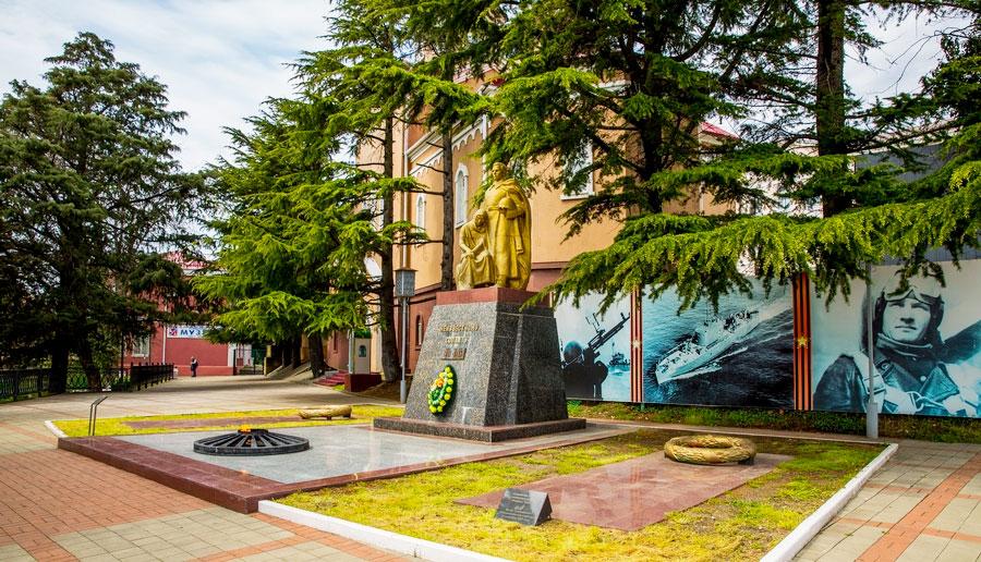 Фото Мемориальный комплекс «Горка Героев» в Туапсе.