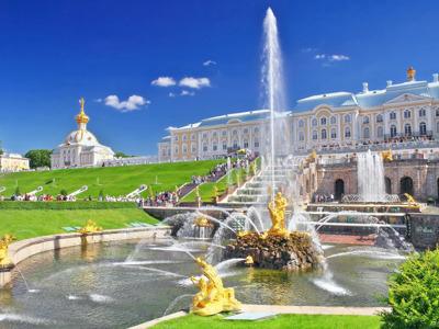 Большое путешествие — Петергоф, Кронштадт и форт Константин