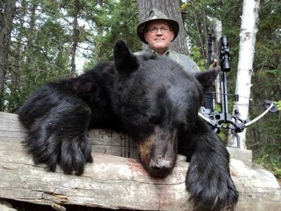 Охота на медведя и лося в Канаде