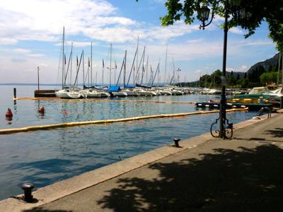 Поездка вдоль озера Гарда
