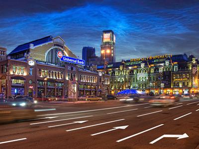 Экскурсия по вечернему Киеву на Land Cruiser Prado