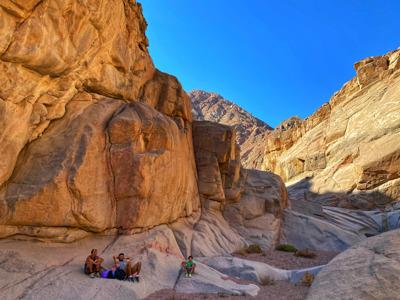 Цветной каньон Салама и Дахаб