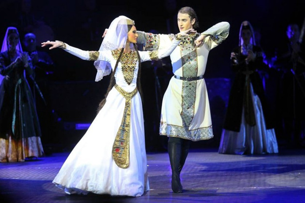 Мастер класс по грузинскому танцу
