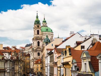 Золотая Прага, выезд из Карловых Вар