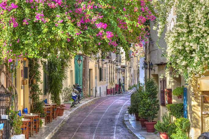 Пешеходная по Афинам с посещением Акрополя