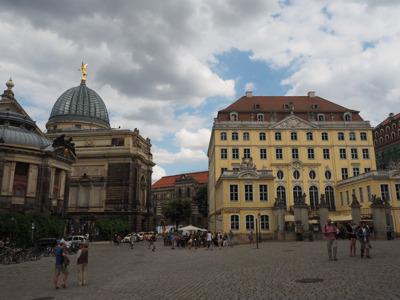 Прогулка по историческому центру Дрездена