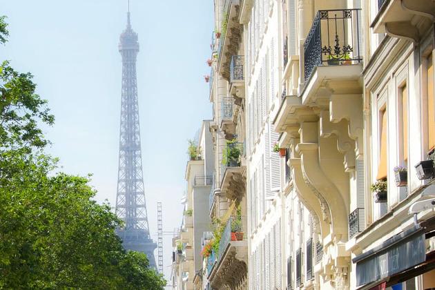 Прогулка по Парижу + билеты на Эйфелеву башню