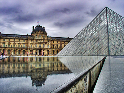 В Лувр без очереди (входной билет)