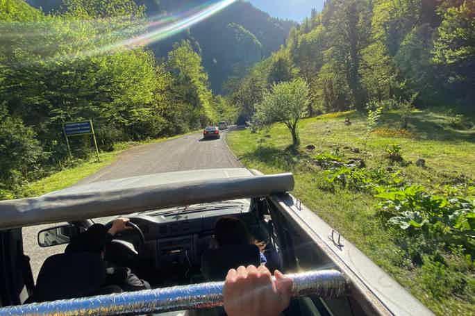 Джип-тур в Абхазию - горы, море, драйв и отдых от души