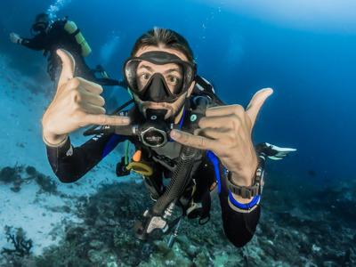 Ознакомительное погружение Intro Dive в Эйлате
