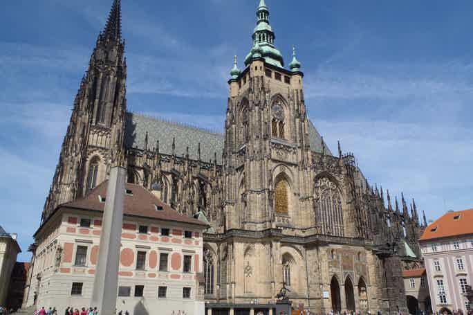 Пражский град: входной билет и небольшая обзорная экскурсия на английском