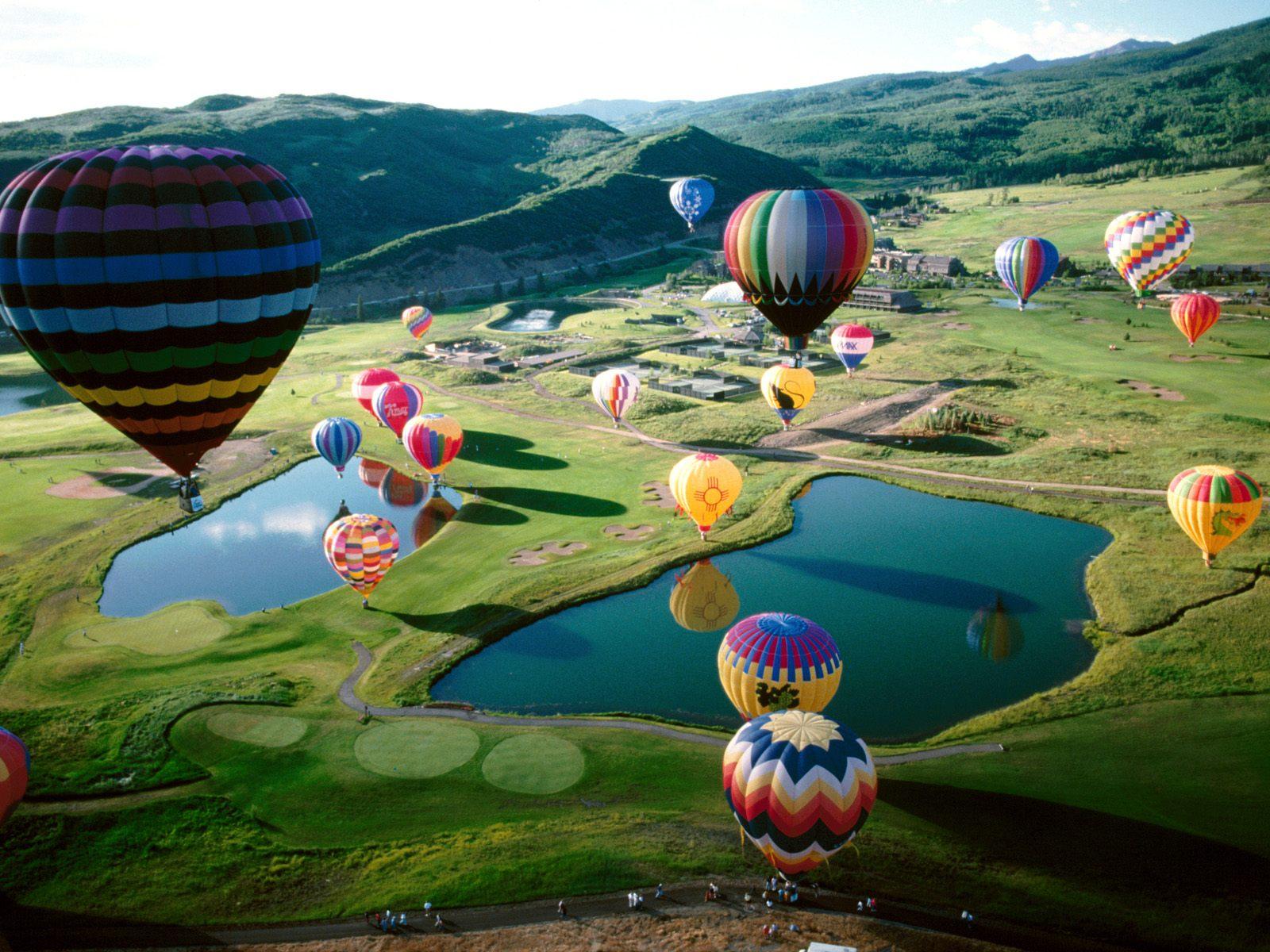 связи картинки на рабочий стол воздушные шары на весь экран странице