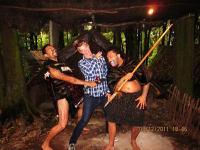 17. Экскурсия в деревню маори Тамаки. Роторуа.