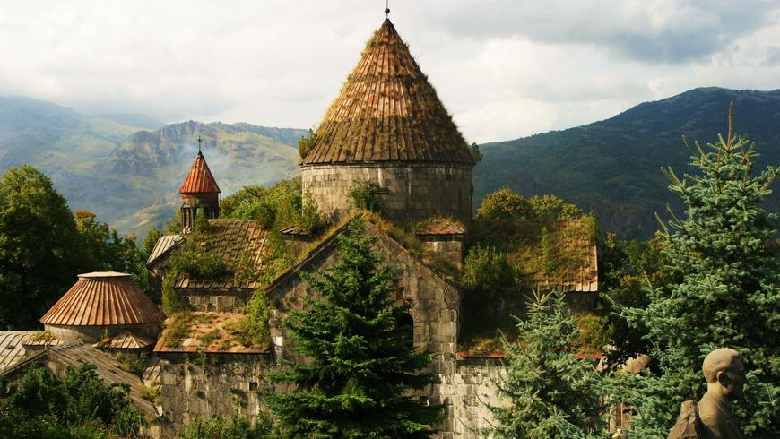 Монастыри Ахпат, Санаин и дендропарк