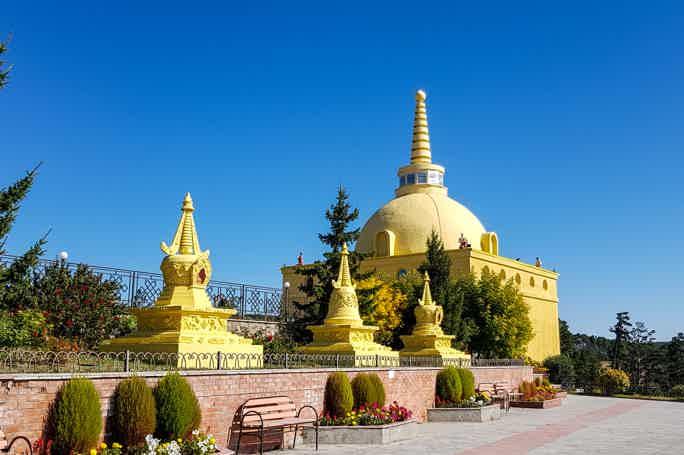 Тур из Иркутска в Улан-Удэ - Иволгинский дацан и ставка Чингисхана