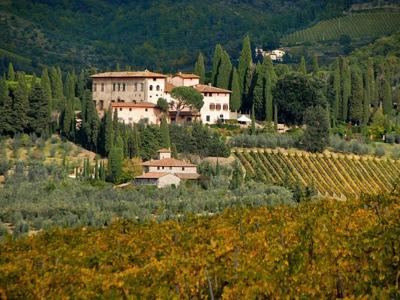 Дегустация вина Кьянти в средневековых замках
