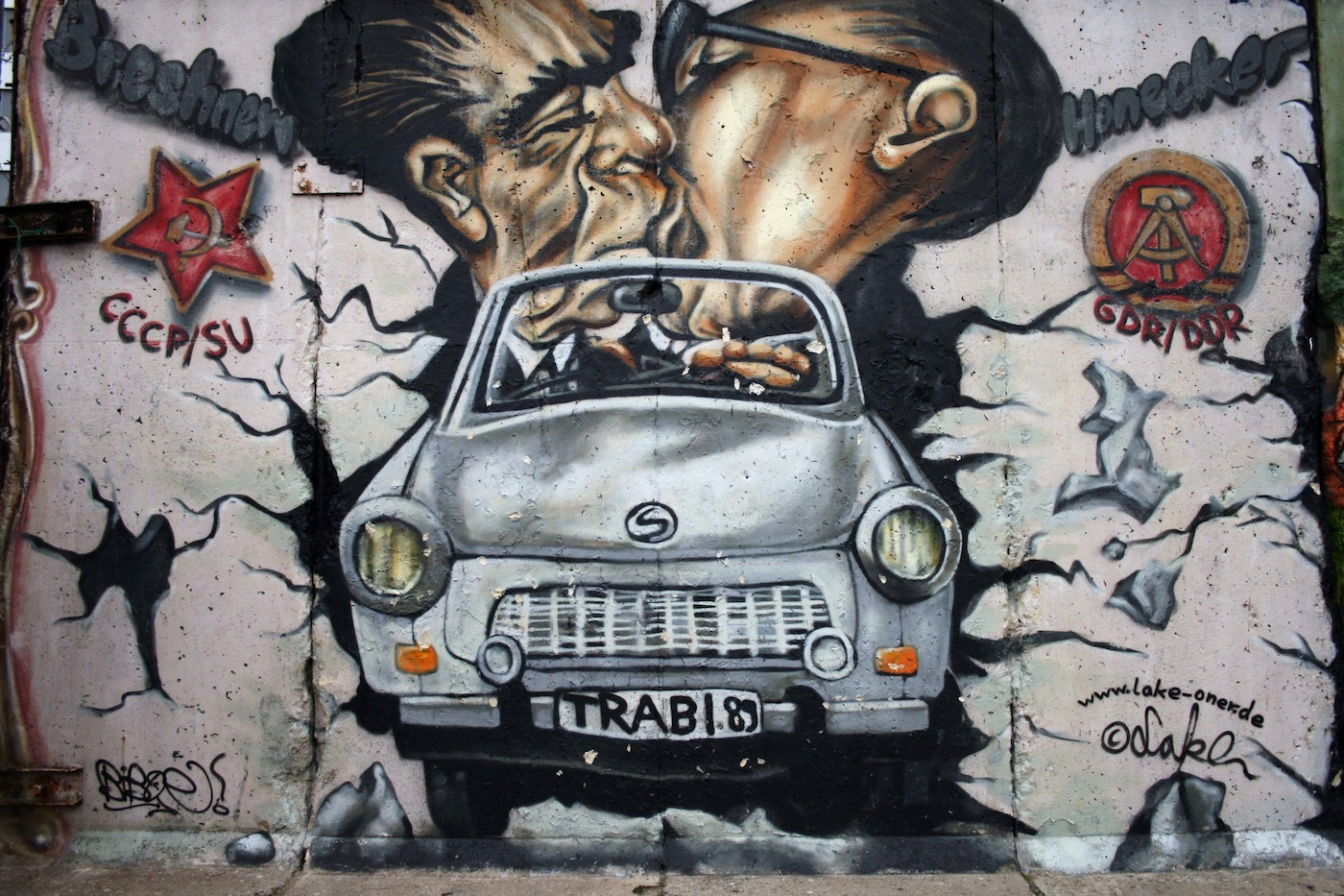 Онлайн-лекция: «Андеграундный Берлин — стрит-арт, художники и граффити»