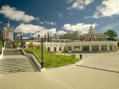 Хабаровск — город большой реки