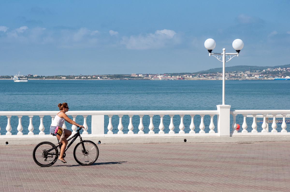 Прогулка на велосипеде в Геленджике