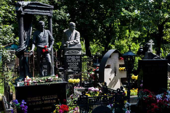 Ваганьковский некрополь. «Память, застывшая в камне»