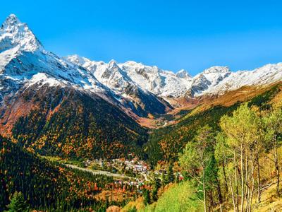 Домбай и термальные воды «Жемчужины Кавказа»