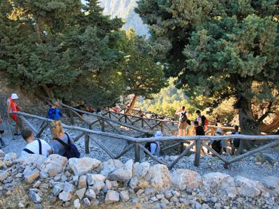 Поездка в Самарийское ущелье из района Ретимно