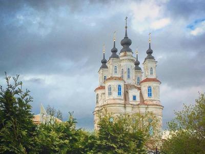 Калуга — город церквей