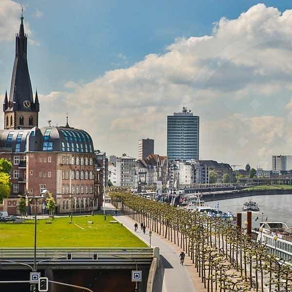 Онлайн-экскурсия: «Дюссельдорф — от деревни до столицы»