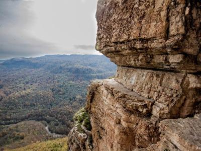 Мезмай: Орлиная полка и водопад Исиченко