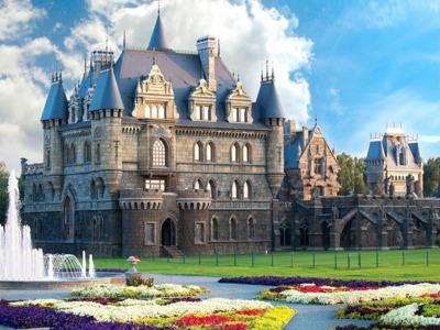 Замок Гарибальди (Тольятти) и Парк истории техники им. К. Г. Сахарова