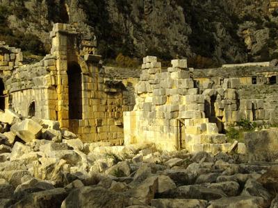 Демре: античная Мира и Храм святого Николая Чудотворца