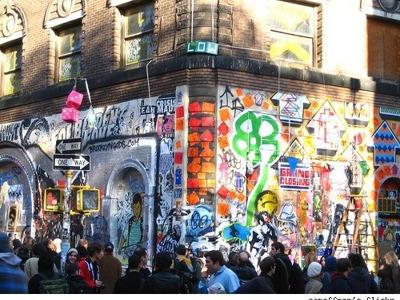 Графити города Нью-Йорка