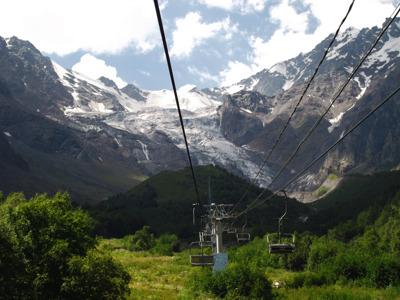 Цейское ущелье: Аланский монастырь, святилище Реком и Сказский ледник