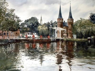 Сказочный Делфт — очарование старой Голландии
